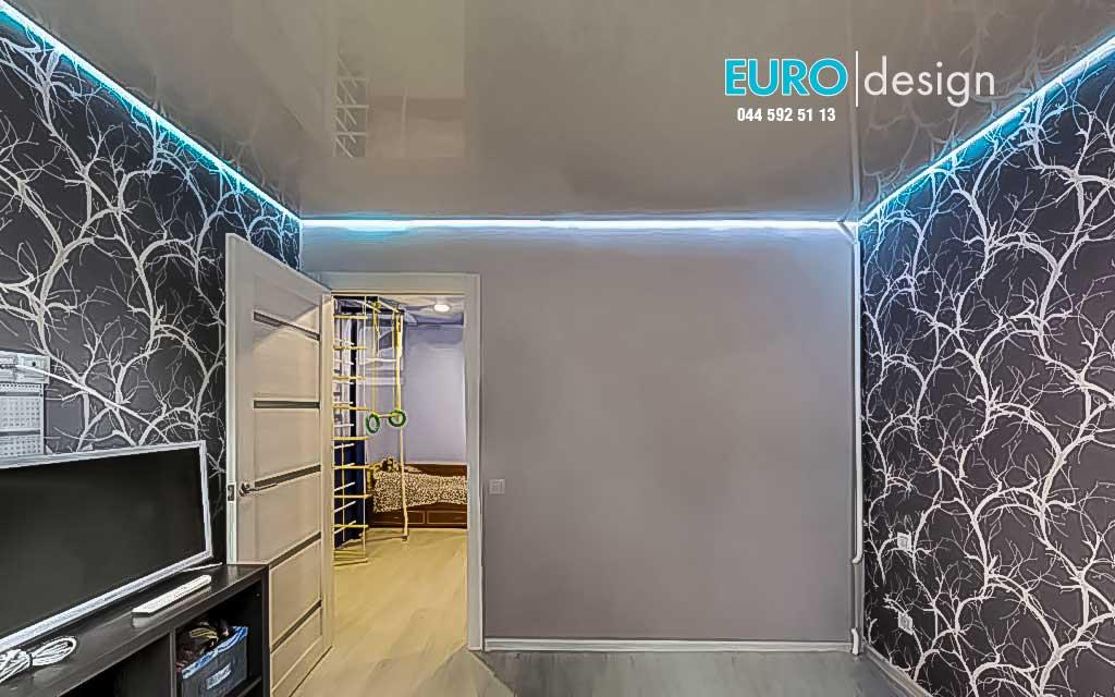 Парящие натяжные потолки имеют эффект зависшего в воздухе потолка придаёт специальный профиль в который монтируется Led лента. Цена - от 150 грн.  м.  п.
