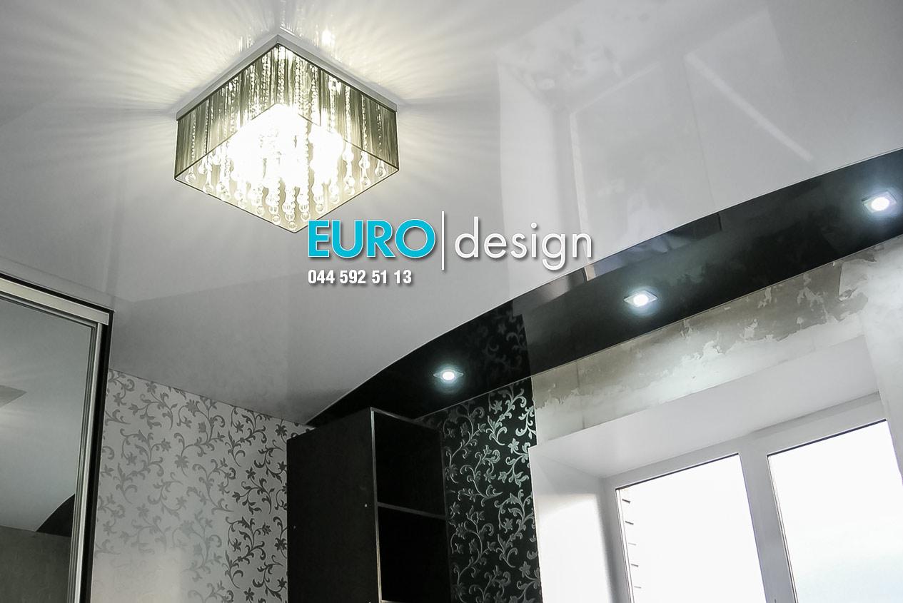 Установка натяжных потолков в ванную комнату в Киеве, на Подоле